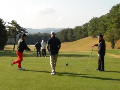 高校クラブOB会ゴルフコンペ