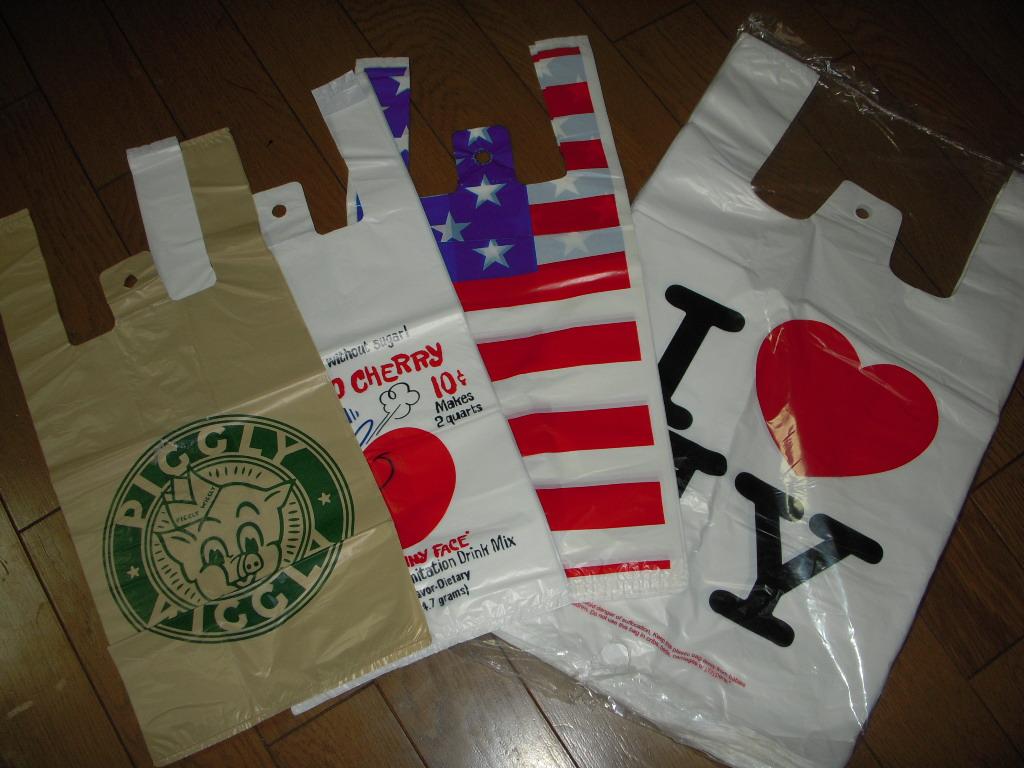 アメリカンレジ袋