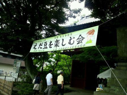 枝豆を楽しむ会