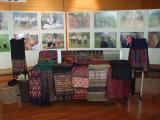 ラオスの織物展 10