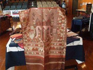ラオスの織物展 11