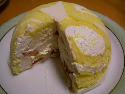 ロールケーキで