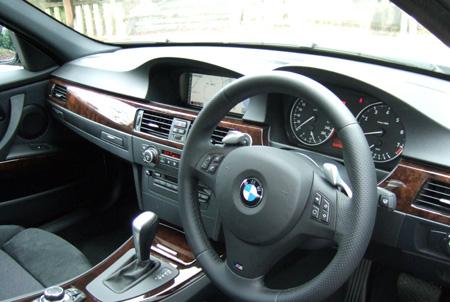 BMW内装2