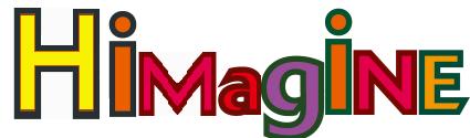 HIMAGINE×GIGAZINE logo