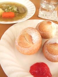自家製レーズン酵母でまるパン
