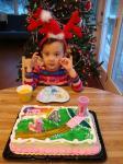 サブ子4歳の誕生日1