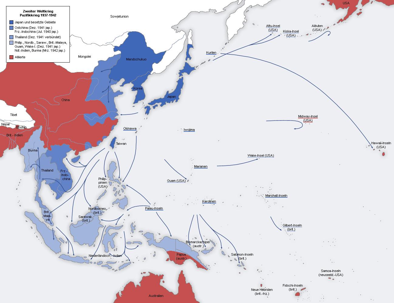 太平洋戦争 1