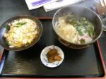 20100213万渡火 ミニ親子丼セット