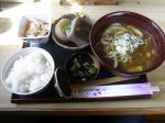 20100220久助 うどん定食(カレーうどん)