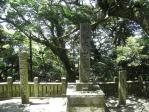 20100516淡路  千光寺 石碑