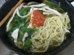 20100710 菜麺 冷やし菜麺 麺