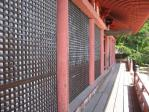 20100815大山寺本堂横から