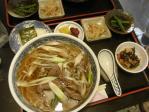 20101011椿寿亭肉なんば+おにぎり