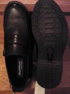 20100322phiten by G-FOOT(ファイテン by ジーフット) 通気軽量ラウンドビジネスシューズ 80090 ブラック
