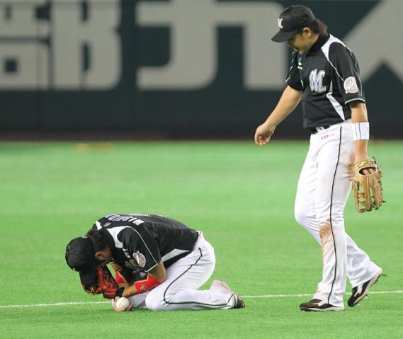 20101022CS最後の西岡選手