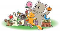 動物と果実