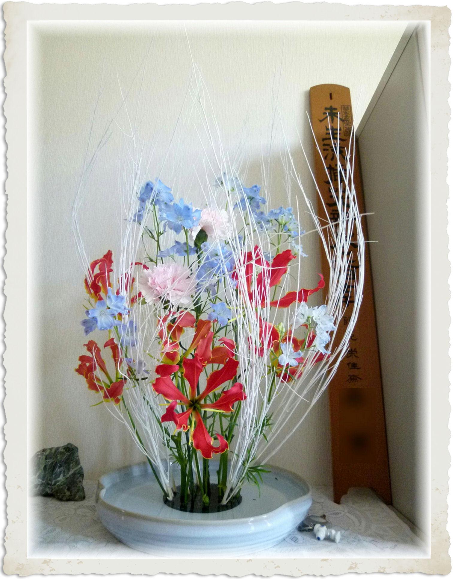 サンディー卒業の日 (お祝いの花) Ver.2
