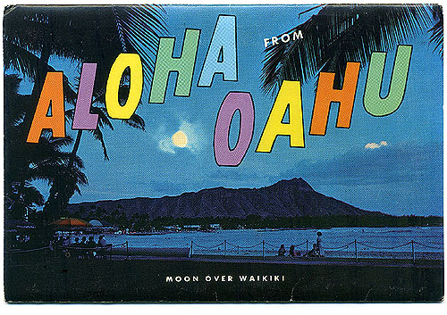 aloha from oahu