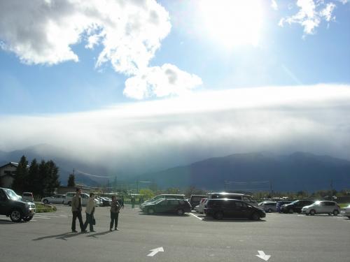 信州の不思議な雲