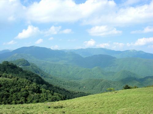 奥深い信州<br />の山々