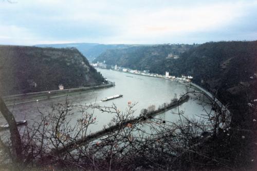 ライン川俯瞰