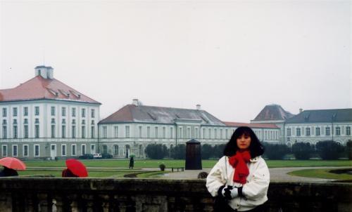 ニュンヘンベルク城の庭