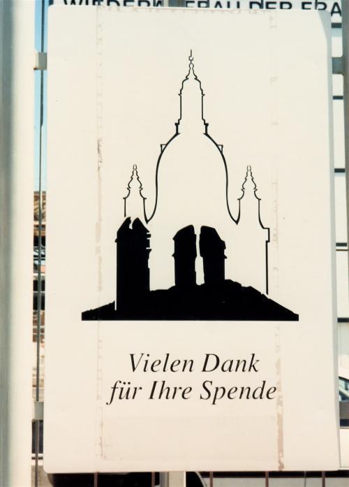 聖母教会の看板