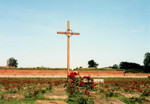 ユダヤ人墓地・十字架