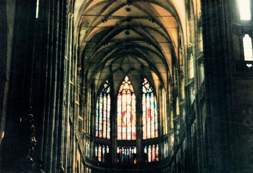 プラハ教会内部