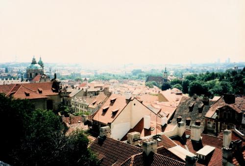 プラハ城からの眺め2