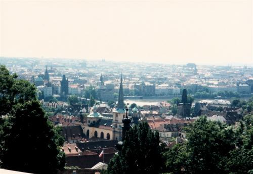 プラハ城からの眺め3