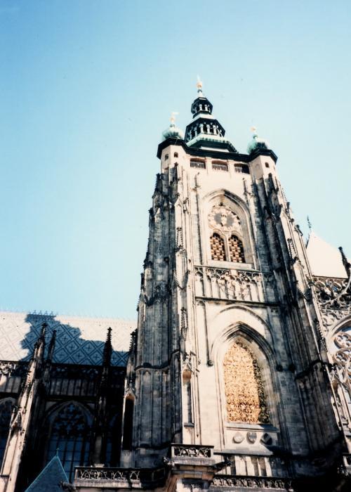 プラハ城の塔