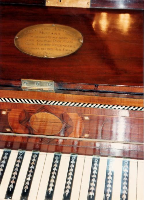 モーツアルトのピアノ