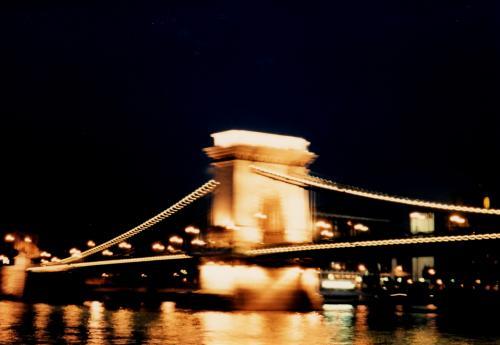 くさり橋の夜景1