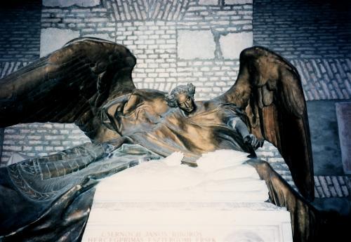 大聖堂内の彫刻