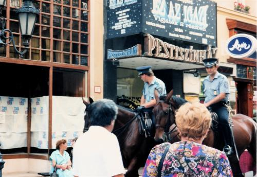 ペストの騎馬警察