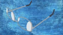 眼鏡が・・・