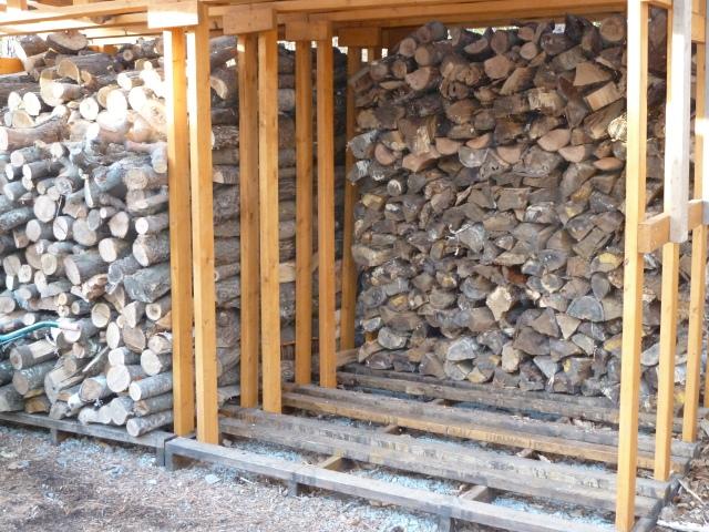 薪小屋のストック状況