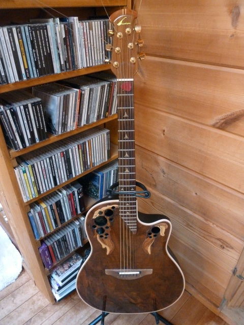 オーベーションギター