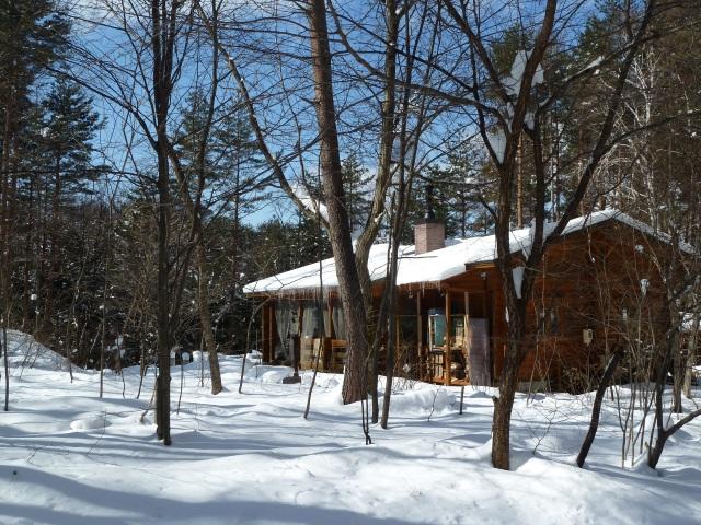 青空と雪のペーターランド家