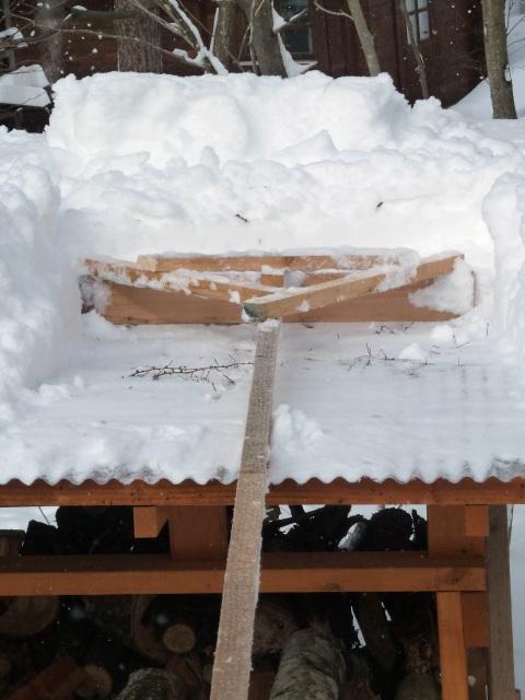 雪トンボの威力