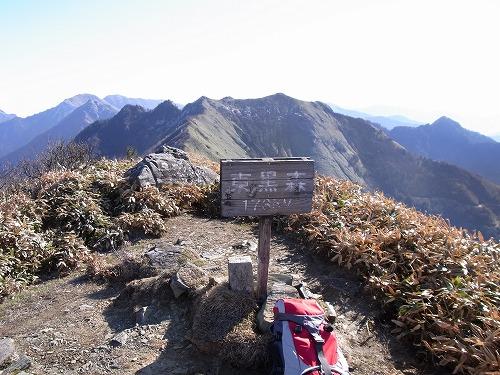 東黒森山頂