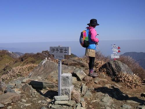 伊予富士山頂