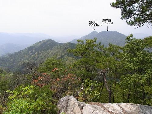 向山からの景色