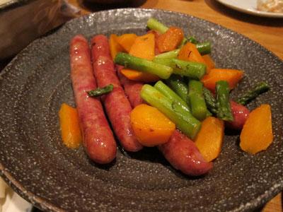 1105ソーセージと野菜