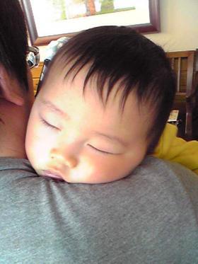 0119 熟睡タロさん2