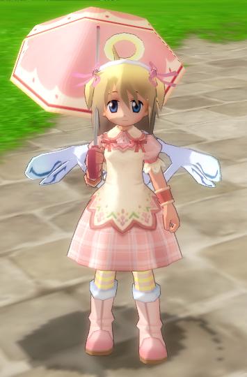 ふわふわ春ドレス