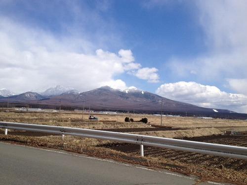 茅野からの八ヶ岳