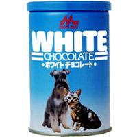 犬猫用の安心おやつ「ワンラックホワイトチョコレート」