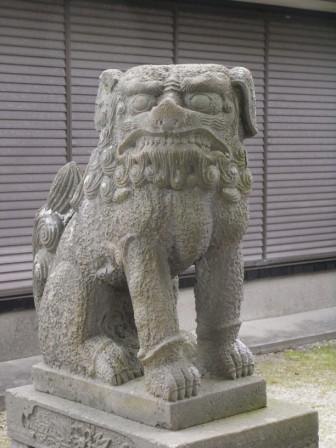 日吉神社立石4
